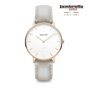 [Lambretta Watches] 람브레타 Classico 36 Rose Gold White Grey 여성시계
