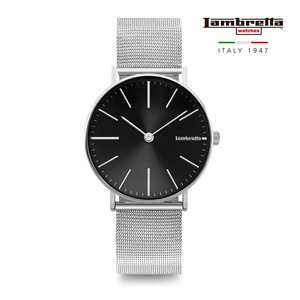 [Lambretta Watches] 람브레타 Cesare 42 Mesh Black 메쉬시계